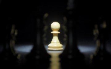 шахматы, доска, спорт, пешка, один