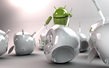 android, hi-tech, lightsabers, apple