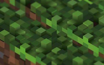 куб, блок, майнкрафт