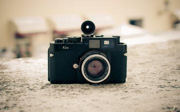 фотоаппарат, камера, объектив, voigtlander bessa r2m