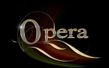 opera, name, gold, diamonds