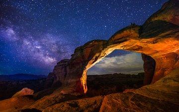 сша, национальный парк арки, штат юта