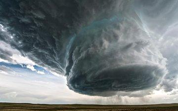 field, storm, hurricane, wyoming beauty