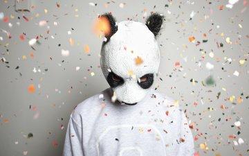 музыка, панда, германия, hip-hop, cro, карло вайбель