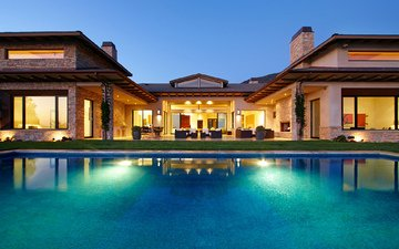interior, home, house, villa, pool, desigen, exterior