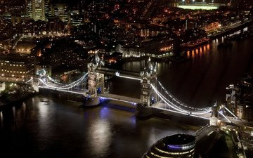 лондон, англия, тауэрский мост