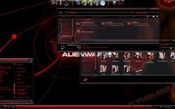package design for windows____red alienware