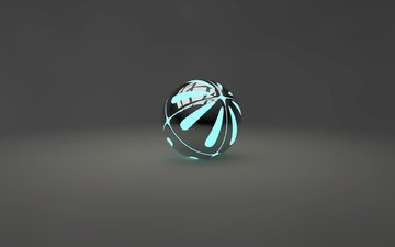 light, balls, blue, grey, cinema 4d, render, 3d, gray