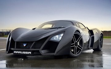 machine, car, sports car, marussia