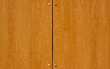 tree, pattern, door, wardrobe, polished, closet doors