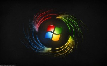 pattern, emblem, operating system, windows