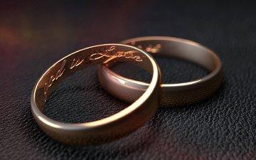 любовь, кольцо, кожа, кольца, cinema 4d, 3д, влюбленная
