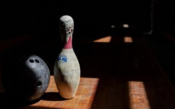 background, sport, bowling
