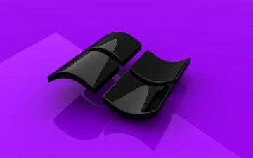 lilac, gloss, microsoft, windows