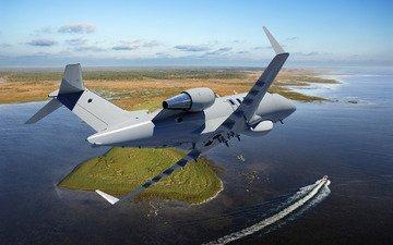 ландшафт, bombardier, challenger 600, бизнес-джет