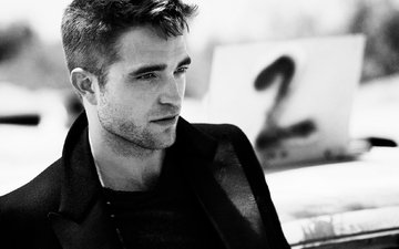 photoshoot, robert pattinson, esquire