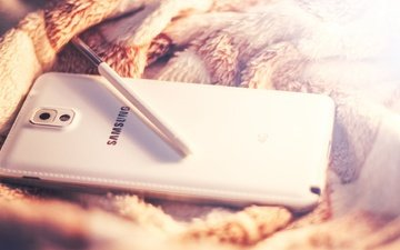 white, galaxy, phone, android, smartphone, note 3, samsung, the s-pen