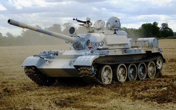 tank, soviet, t-55, average