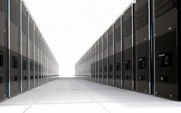 комната, серверная, серверы