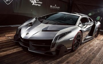 wheel, spoiler, drives, lamborghini, sports car, supercar, exhibition, veneno, autoshow.