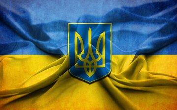 герб, флаг, украина, україна