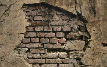 узор, стена, кирпич, pattern of brick wall