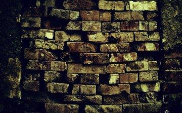 узор, кирпич, wall (кирпич, стена)