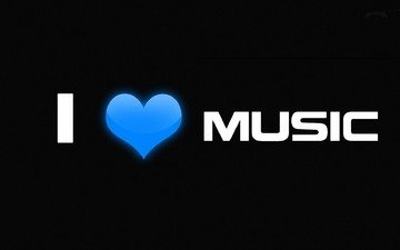 music, heart, minimalism, love, the phrase