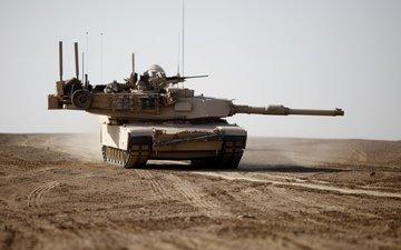 desert, tank, m1a1, abrams, armor