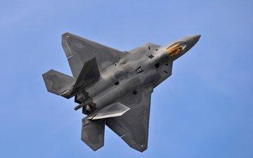 истребитель, раптор, ф-22, многоцелевой истребитель, истребитель пятого поколения