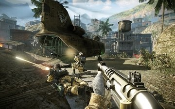 shooting, helicopter, warface