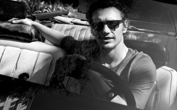 machine, guy, glasses, actor, male, james franco