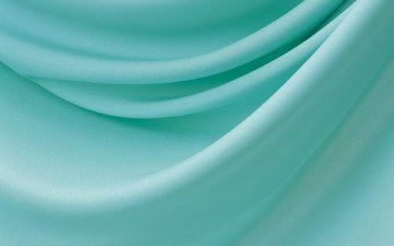 ткань, зеленая, сборки