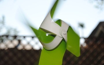 ветер, зеленая, мелница