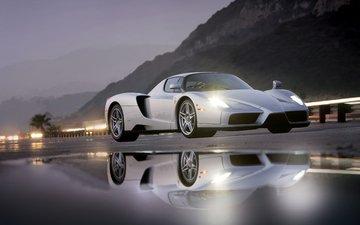 автомобиль, феррари, супер car, enzo.