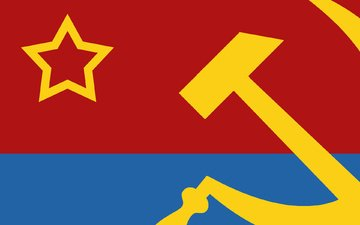 hammer, star, flag, the ussr