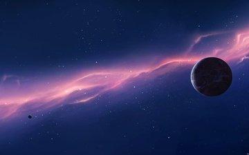 свет, планета, плазма