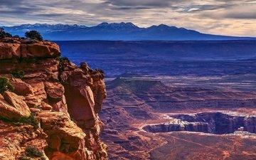 near moab, штат юта, национальный парк каньонлендс