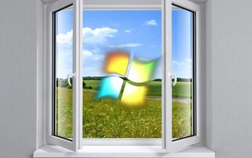 background, the theme, windows