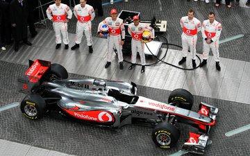formula 1, pilots, the car, team vodafone mclaren mercedes