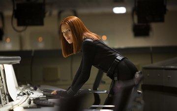 actress, scarlett johansson, the first avenger another war