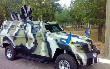 ukraine, armor, armored car, cougar