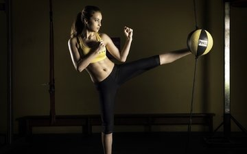 girl, athlete