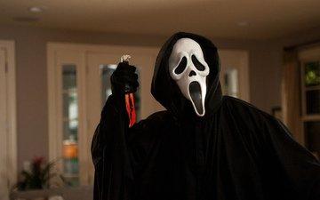 the film, killer, movie, knife, horror, creek, scream, scary