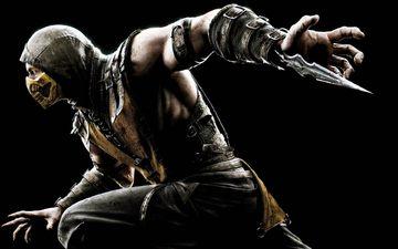 ninja, the game, costume, mortal kombat, scorpio, scorpion, game
