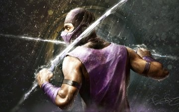 ninja, the game, mortal kombat, game