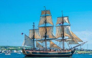 корабли, канада, парусные, halifax, regional, коммуна