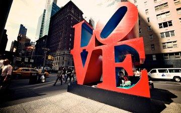 города, сша, влюбленная, нью - йорк