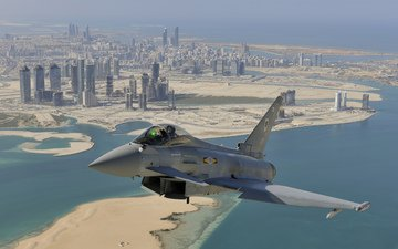 flight, the city, multipurpose, eurofighter typhoon