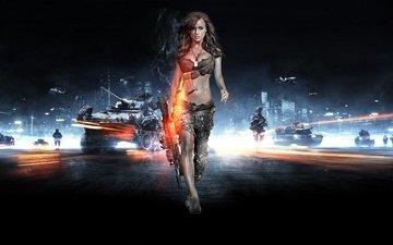 battlefield 3, (girl).